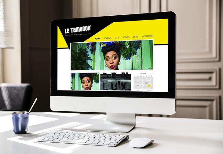 Le Tamanoir, refonte du site web